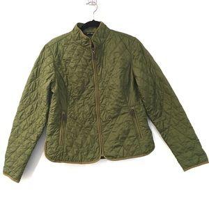 [EDDIEBAUER] Light thin zip up textured jacket L